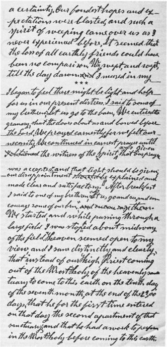 HIRAM EDSON'S MS fragment