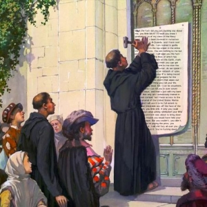 Luther at Wittenburg